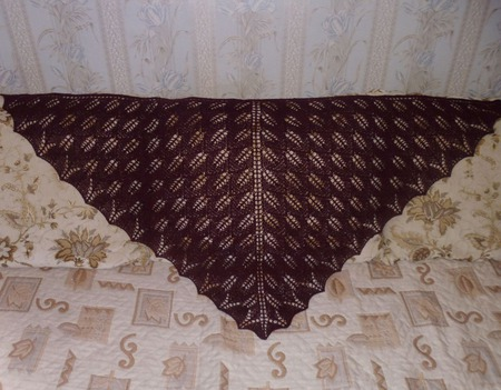Шаль Кири из Кауни ручной работы на заказ