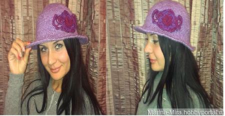 Шляпа для леди ручной работы на заказ