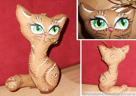 Кошка Викки ручной работы на заказ
