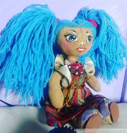 Кукла Анхелика ручной работы на заказ