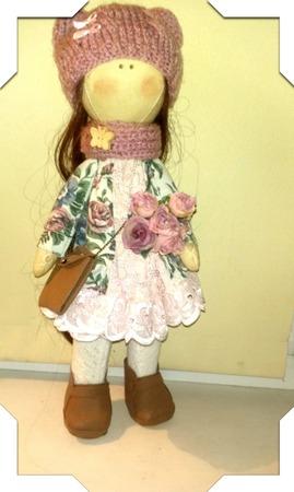 Кукла Люси ручной работы на заказ