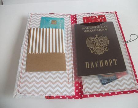 Холдер (папка для документов) ручной работы на заказ