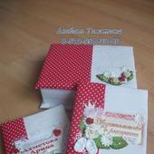Подарочный набор (блокнот развития, папка для документов. коробка)