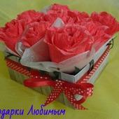 Букет из конфет (композиция ручной работы)