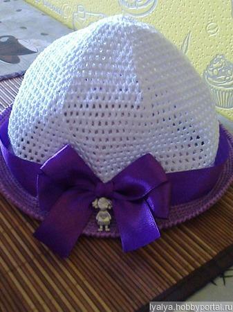 "Шляпка ""Модница"" ручной работы на заказ"