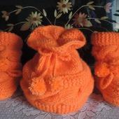 """Комплект для новорожденного """"Оранж"""""""