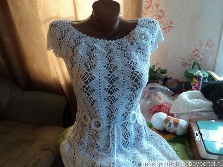 Платье-туника ручной работы на заказ