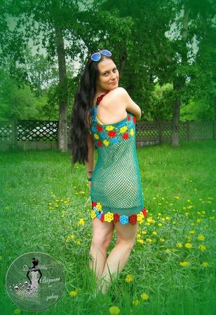 Платье Лето ручной работы на заказ