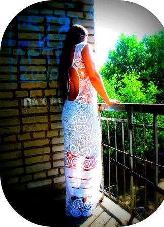 """Платье """"Мотив"""" ручной работы на заказ"""