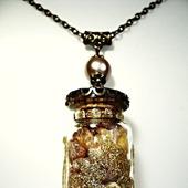 Бутылочка с янтарём