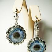 "Серьги ""Глаз голубой"""