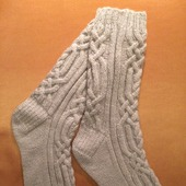 Носки с аранами - 1