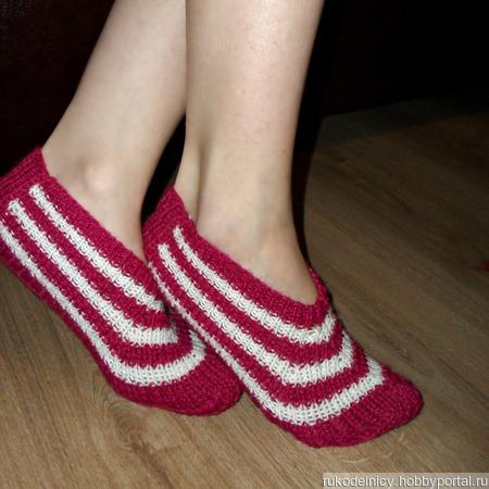 Носки-следки ручной работы на заказ