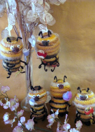 Добрые Пчелы ручной работы на заказ