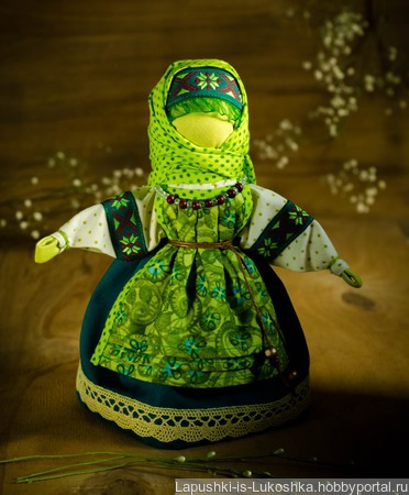 Вербница. По мотивам народной куклы ручной работы на заказ