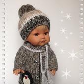 Зимний комплект для куклы