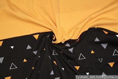 Футер треугольники ручной работы на заказ