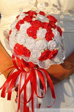 Свадебный букет дублер ручной работы на заказ
