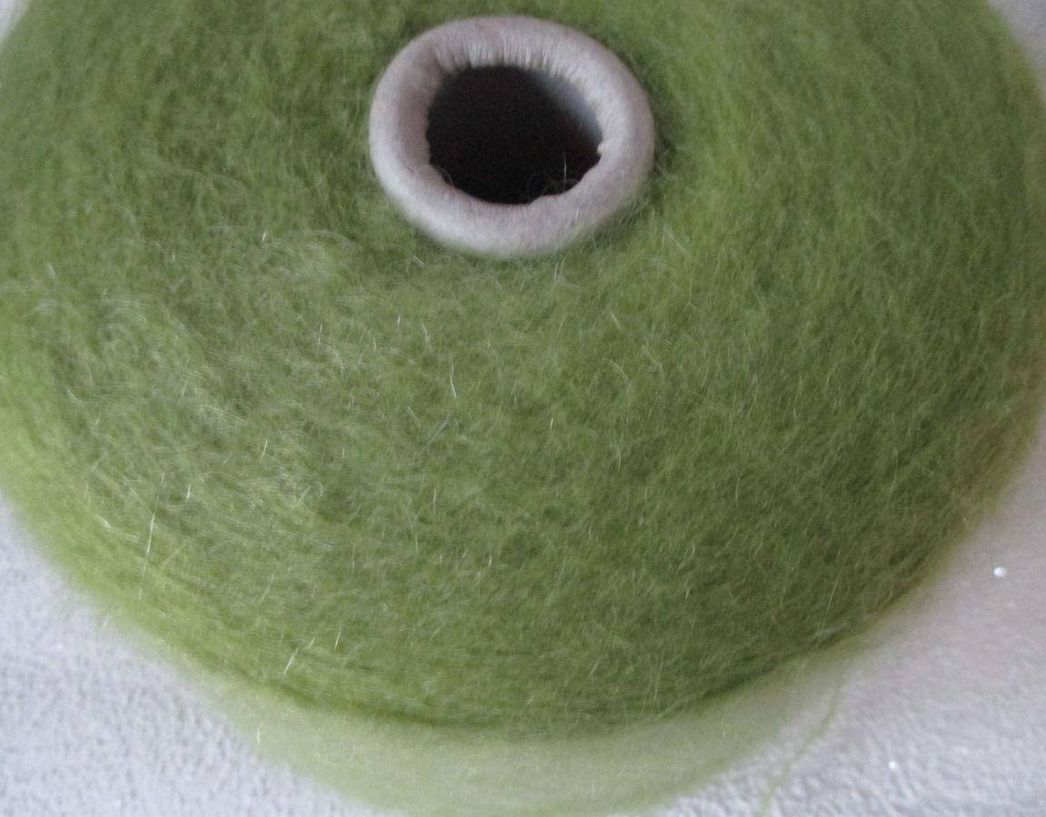 Вязание крючком зеленый цвет