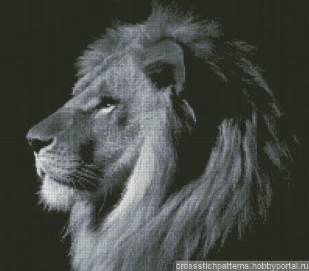 Царь зверей ручной работы на заказ