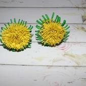 Мини цветочки из фома
