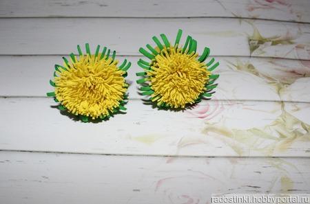 Мини цветочки из фома ручной работы на заказ
