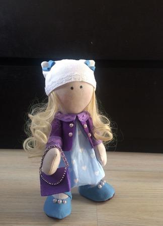 Интерьерная кукла Стася ручной работы на заказ