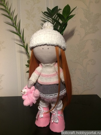 Интерьерная кукла Алисия ручной работы на заказ