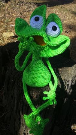 Лягуш Арсений ручной работы на заказ