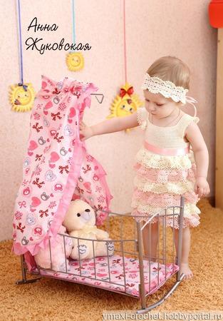 Мастер-класс нарядное платье с воланами ручной работы на заказ
