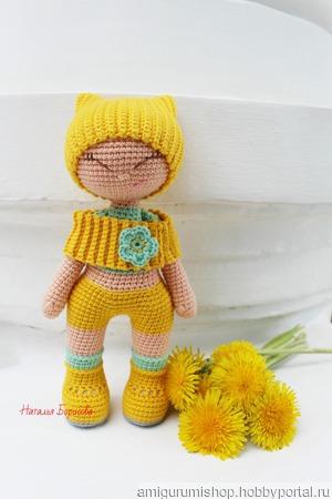 """Куколка-улыбашка  """"Одуванчиковое настроение"""" ручной работы на заказ"""