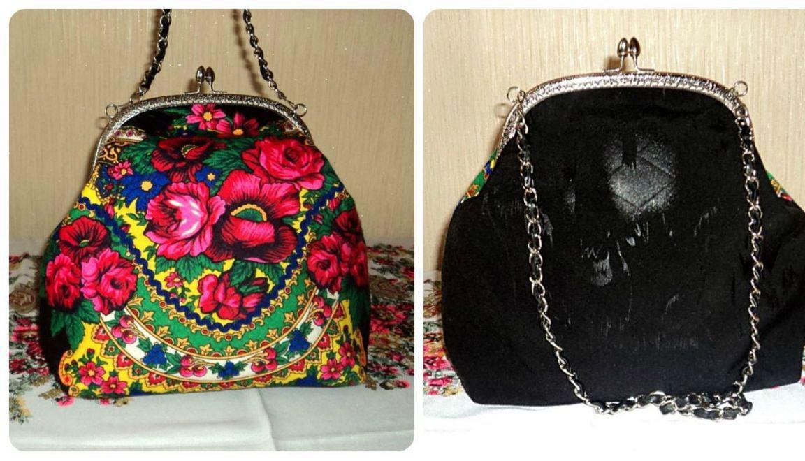 38aca0fa0b2d Дамская сумочка с фермуаром – купить в интернет-магазине HobbyPortal ...