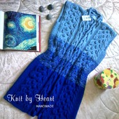 Вязаный кардиган Knit by Heart (жилет) в стиле Лало