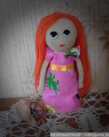 Куколка Аглая ручной работы на заказ