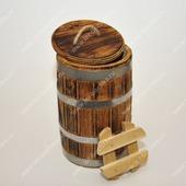 Кадкаа дубовая под старину для засолки (5 л.)
