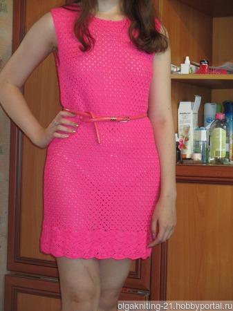 """Коктейльное платье """"Илинка"""" ручной работы на заказ"""