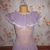 "Платье с накидкой ""Filo di Scozia"""