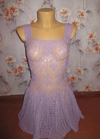 """Платье с накидкой """"Filo di Scozia"""" ручной работы на заказ"""