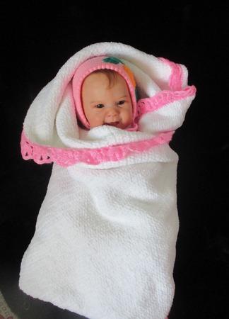 """Пледик для новорожденной девочки """"Облачко"""" ручной работы на заказ"""