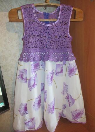 """Платье """"Модница"""" ручной работы на заказ"""