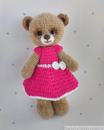 Медведица Мишель ручной работы на заказ
