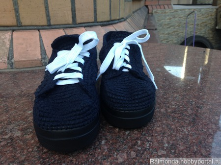 Вязаная обувь ручной работы на заказ