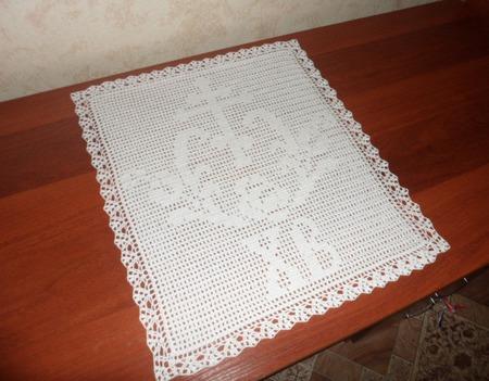 Пасхальная салфетка ручной работы на заказ