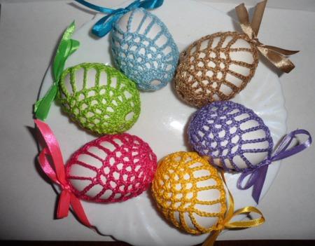 Пасхальные мешочки для яичка ручной работы на заказ