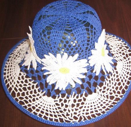 """Шляпки вязаные """"Цветочная оранжерея"""" ручной работы на заказ"""