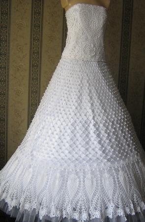 Свадебное платье ручной работы ручной работы на заказ