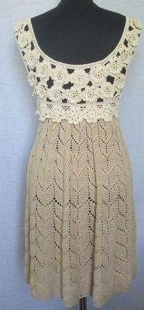 """Платье """"Воздушная карамель"""" ручной работы на заказ"""