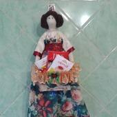 Кукла с коробочкой для чая