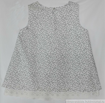 Детское платье-туника ручной работы на заказ