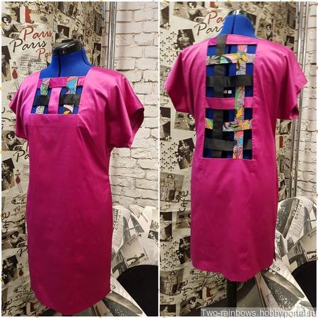 Авторское летнее платье ручной работы на заказ